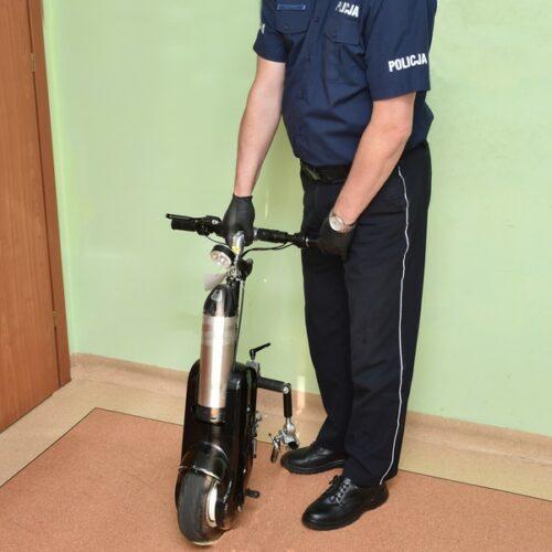 Policjanci zatrzymali mężczyznę, który ukradł przystawkę wózka inwalidzkiego
