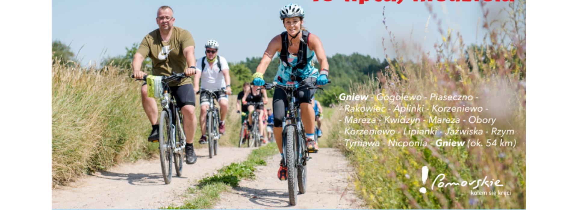 Lokalna Organizacja Turystyczna Kociewie zaprasza na 7. Kociewsko-Powiślański Rajd Rowerowy